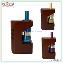 Yiloong high grade beech mahogany wood box mod fog box side firing button fog box mechanical mod