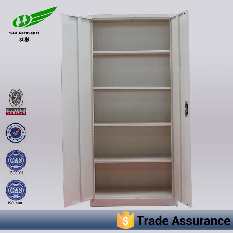 With locking bar workstation reinforced steel 0.8mm 2 door used metal cabinets sale
