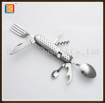 2017 Children Multi Stainless Steel Cutlery Camping Knife Set