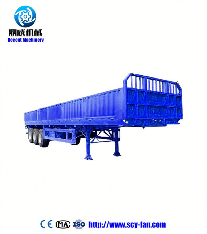 CIMC 3 axle flat bed dolly semi-trailer