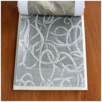 100%polyester woven jacquard inherent flame retardant curtain fabric for window curtain/drape