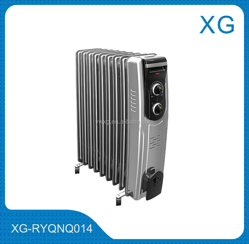 High quality oil filled radiator heater 2500W/9 fins/11 fins gas filled radiator heater 220V