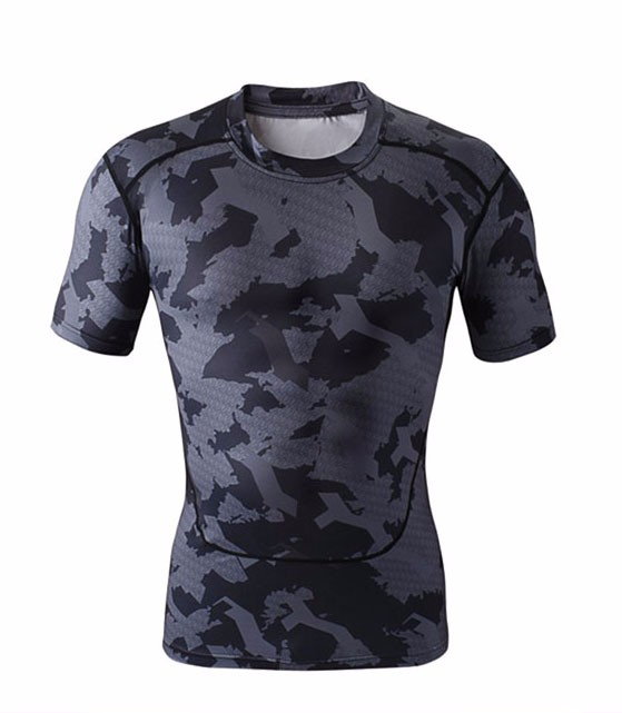 2017 Custom men's wholesale printing high quality sublimation sport t shirt
