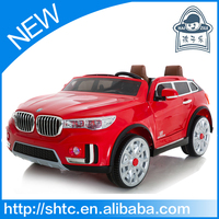 2016 new model large plastic toy car with two seat and EVA tyres