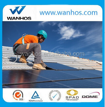 Aluminum solar clamp for Solar Roof Mounting system/solar racking system