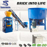 QT4-24 latest electronic product brick machine in market, china manufacturer list brick making machine leader