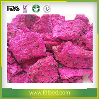Wholesale Cheap Price Freeze Dried Fruit Red Dragon Fruit Natural Color