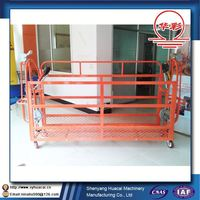 ZLP400 hanging mobile aerial steel cleaning CE scaffolding stabilizer