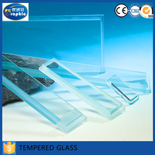 Tempered plate glass cut to size with Competitive price