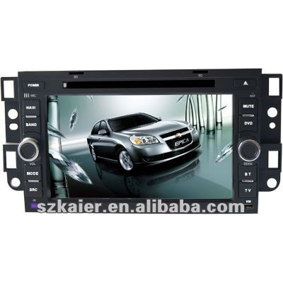 "7"" Car Auto Multimedia DVD Player for Chevrolet Epica with 8CD Virtual and and Navigation"
