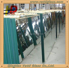 6mm aluminum mirror glass sheet per square meter price m2