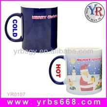 Magic color changing mug promotion trend christmas gift 2014/trend christmas gift 2014