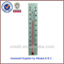 (A-12) aluninum alloy metal card thermometer