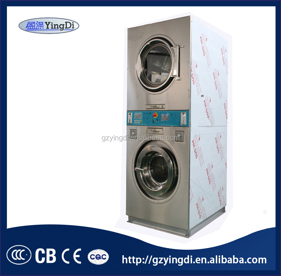 Double stack washing machine,washers and dryers all in one machine,commercial washer and dryer
