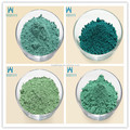 pigment for ceramic tiles different color green iron oxide