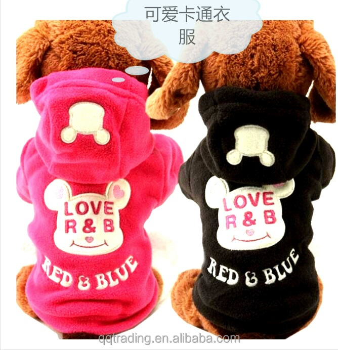 Quality cotton hoodie pet Teddy Bichon Pomeranian name sexy dog winter coat clothes with legs