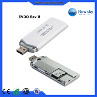 Portable wireless 3g CDMA EVDO sim card slot usb dongle