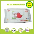 High quality free sample spunlace non woven baby wipes china