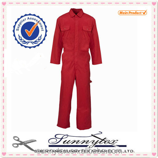 Sunnytex polycotton long sleeves womens work coveralls