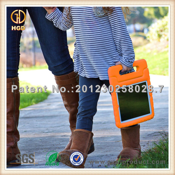 Kids Safe Thick Foam Shock Proof Handle Cover newest case for ipad air