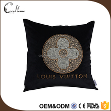 Home decor new black design bead sofa cushion for watching tv