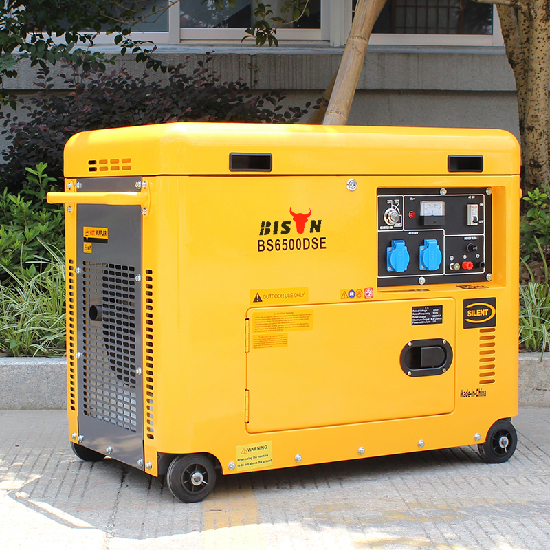 Bison China Zhejiang 4KW OEM Power Engine Digital Panel Electric Generator Diesel price in malaysia