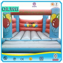 2015 Indoor kids inflatable body bouncers with air blower