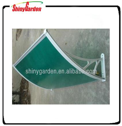 aluminum door awning / PC awning canopy