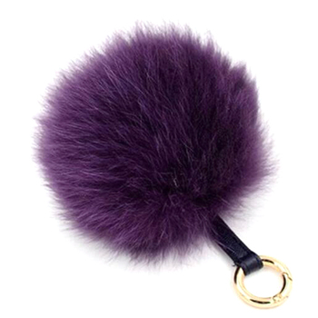 PO000179 WT Yiwu Hair Fur Ball Fashion Key Chain for Mobile Phone Pendant Bag Charm Clip Fuzzy Ball Fur Pompom
