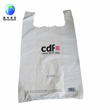 Plastic Ecofriendly Carry Garment T-shirt Bag