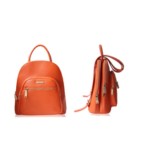 ISO9001:2008 Factory Direct PU leather backpacks for college girls