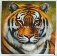 Tigher oil painting hand painting on canvas animal oil painting