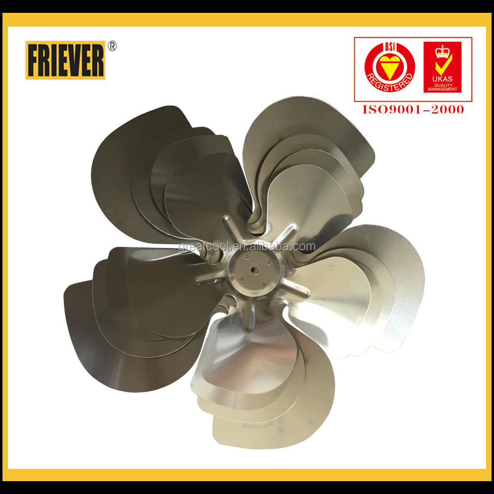 FRIEVER Fan Parts Shaded Pole Motor Blade/Mini Aluminum Fan Blade/Aluminum Fan Blade