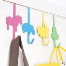 M086 cartoon door hook, coat hook debris,metal hook
