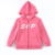 Wholesale fashion children clothing kids fleece jacket boys and girls hoodies
