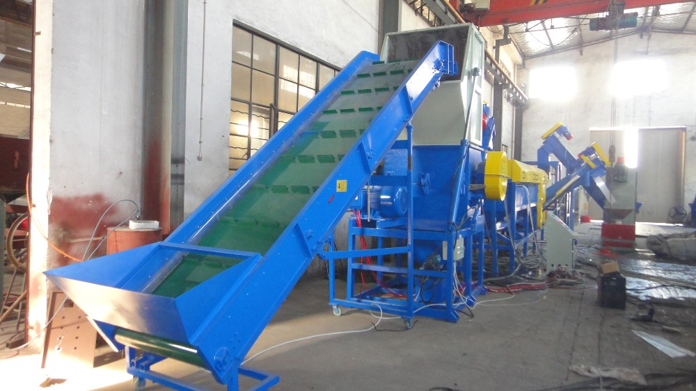 PET bottle/used PP PE plastic film washing recycling machinery