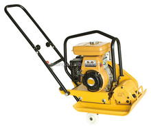 Easy transportation with foldable handle loncin plate compactor machine, used wacker plate compactor for sale