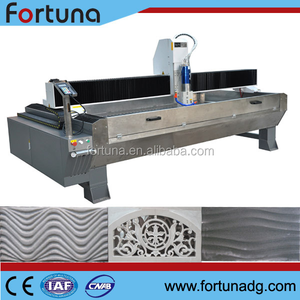 Fortuna DB2500S quartz granite and marble, sandstone, quartz, artificial stone routers cutting machine