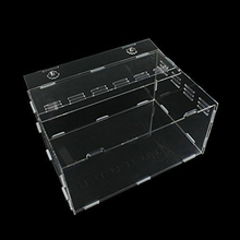 New Design Pet Cage Clear Reptile Carrier Detachable Acrylic Cage