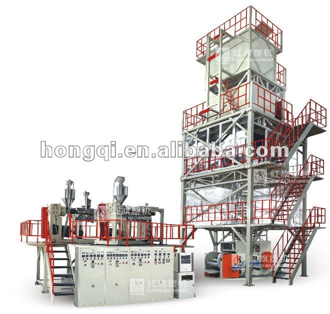 Three layer Co extruding POF film extruder machine