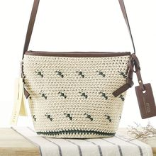 Chinese style hand crochet bags for women