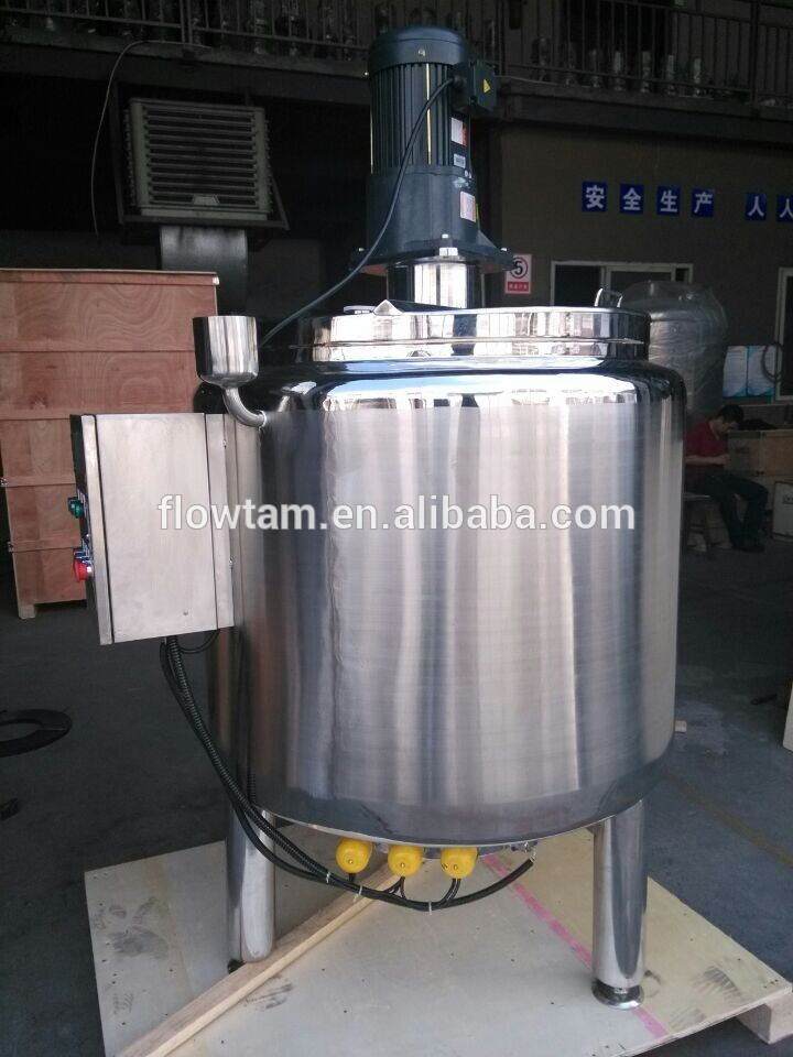 commercial sugar mixing machine/syrup heater mixer/sweet melting pot