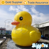 Yellow Inflatable Giant Rubber Duck Animal for Advertising