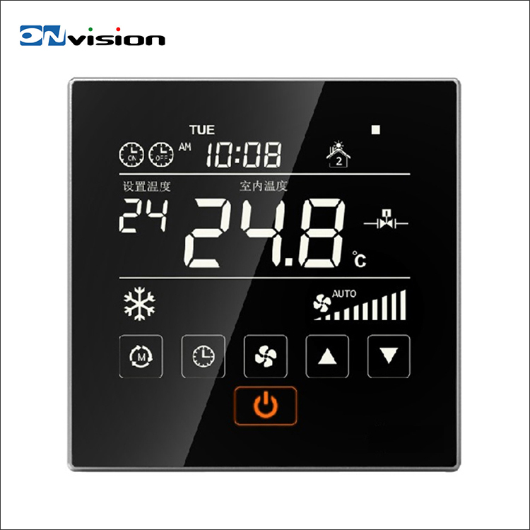 High quality wholesale HVAC system remote control smart digital thermostat