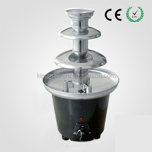 Wholesale 3 Tiers party home plastic mini home chocolate fountain,chocolate fountain prices