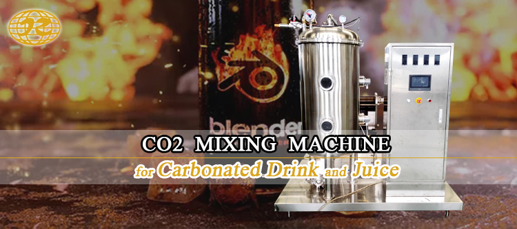 Industrial Automatic Vacuum Carbonated CO2 Drink And Soft Juice Soda Water Gas Mixer