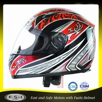 Foshan Wholesale DOT approved ABS custom full face motorcycle helmets