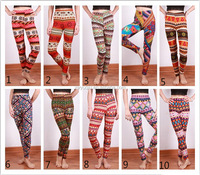 Low MOQ Mix order Very hot sell Women milk silk add wool thickness pritng new design printing leggings
