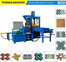Automatic hydraulic cement/concrete/sand/fly ash/ hollow block making machine/pdf manual brick making machine design