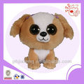 Cute dog stuffed toys ,plush big eyes dog toys
